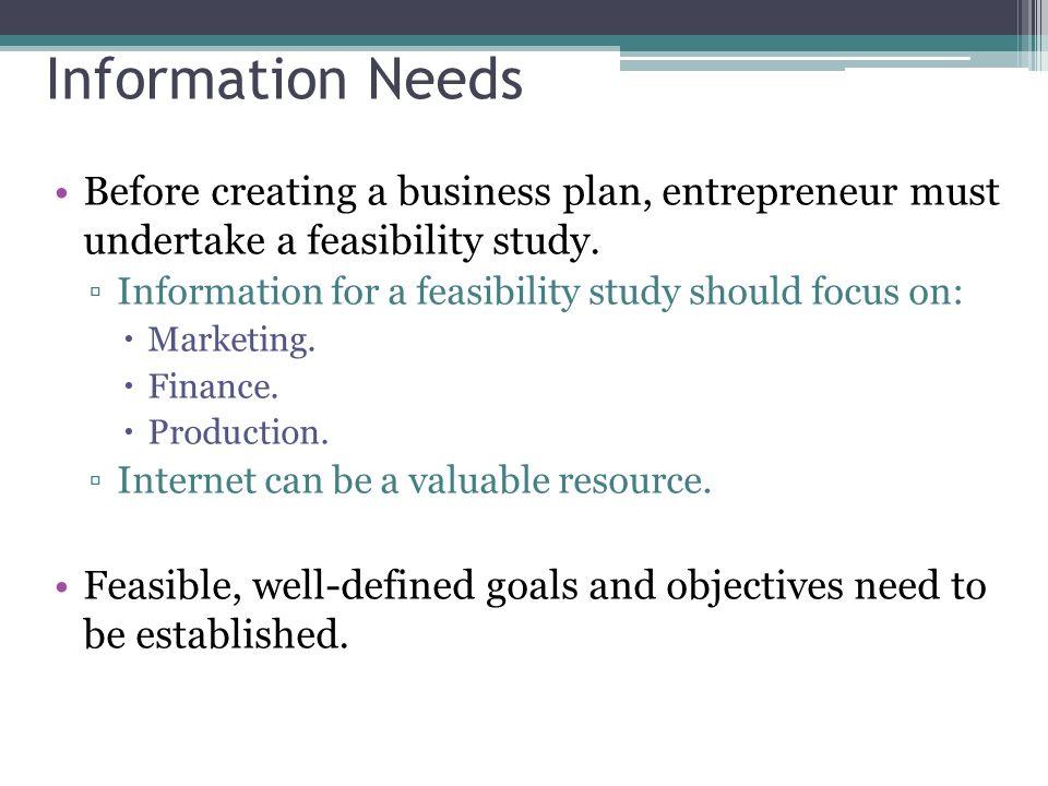feasible business plan