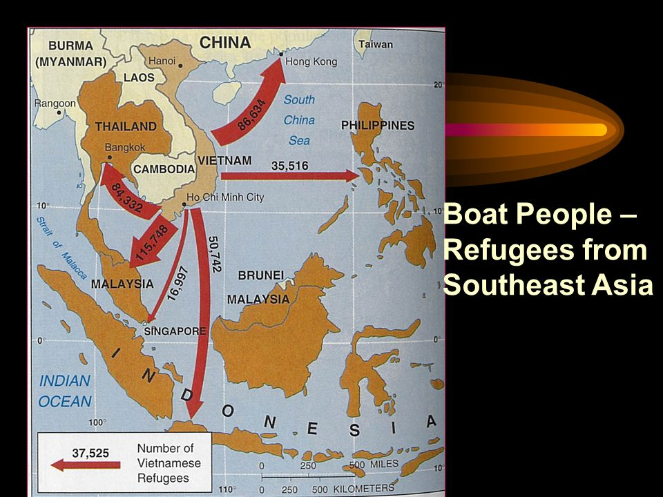 Boat People – Refugees from Southeast Asia