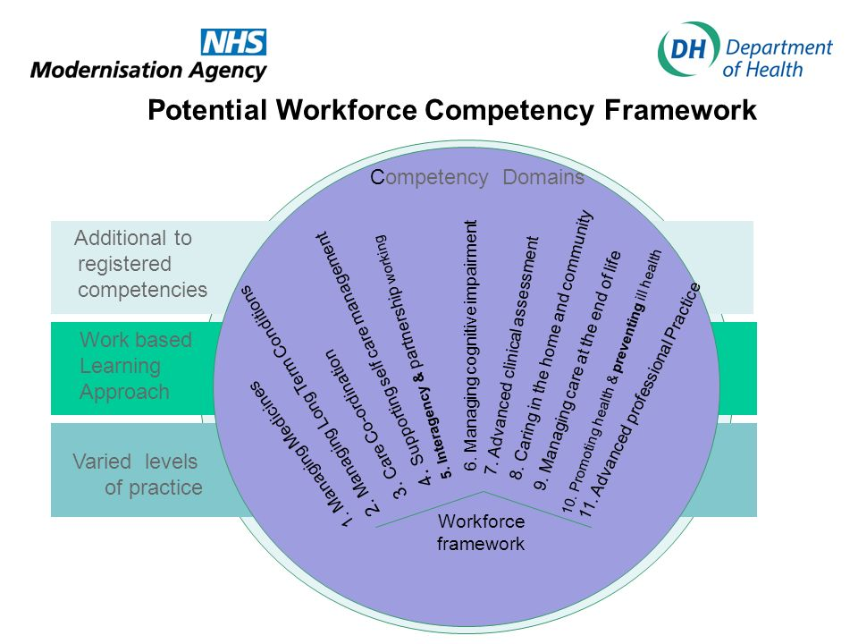 Potential Workforce Competency Framework