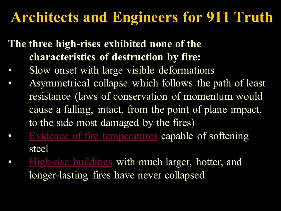Architects and Engineers for 911 Truth