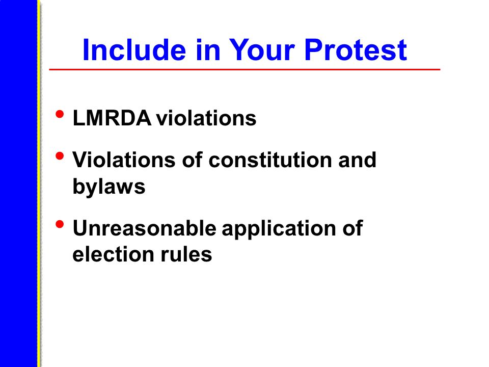 Include in Your Protest