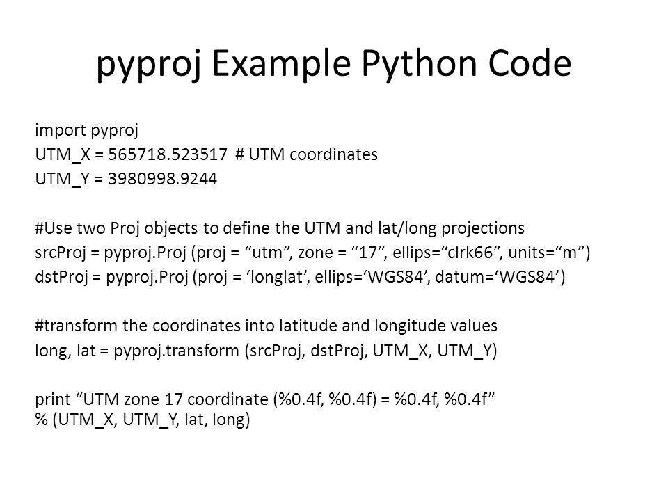 Geospatial Development with Python - ppt video online download