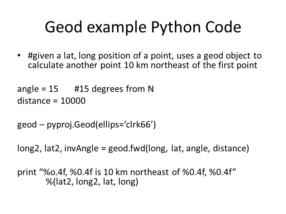 Geospatial Development with Python - ppt video online download