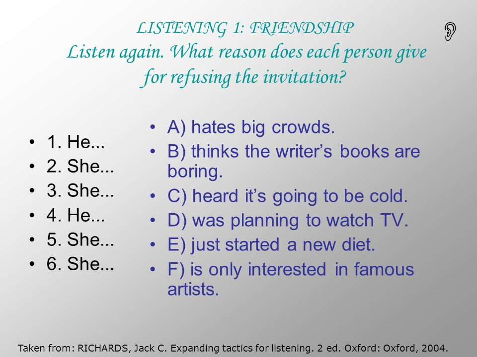 Class 2 english 5 dialogues understanding and producing ppt 3 listening stopboris Choice Image