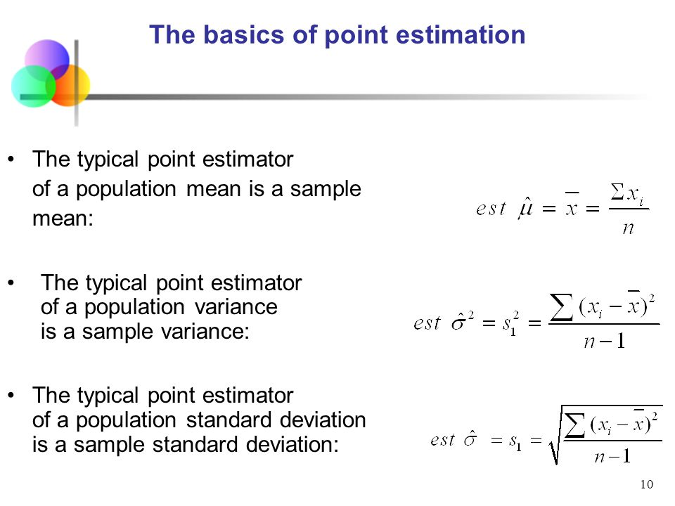 Topic 5 Statistical Inference Point And Interval Estimate Ppt