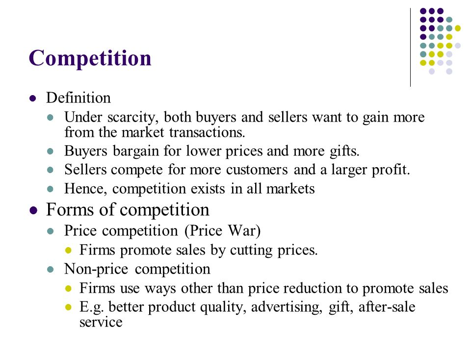 non price competition definition