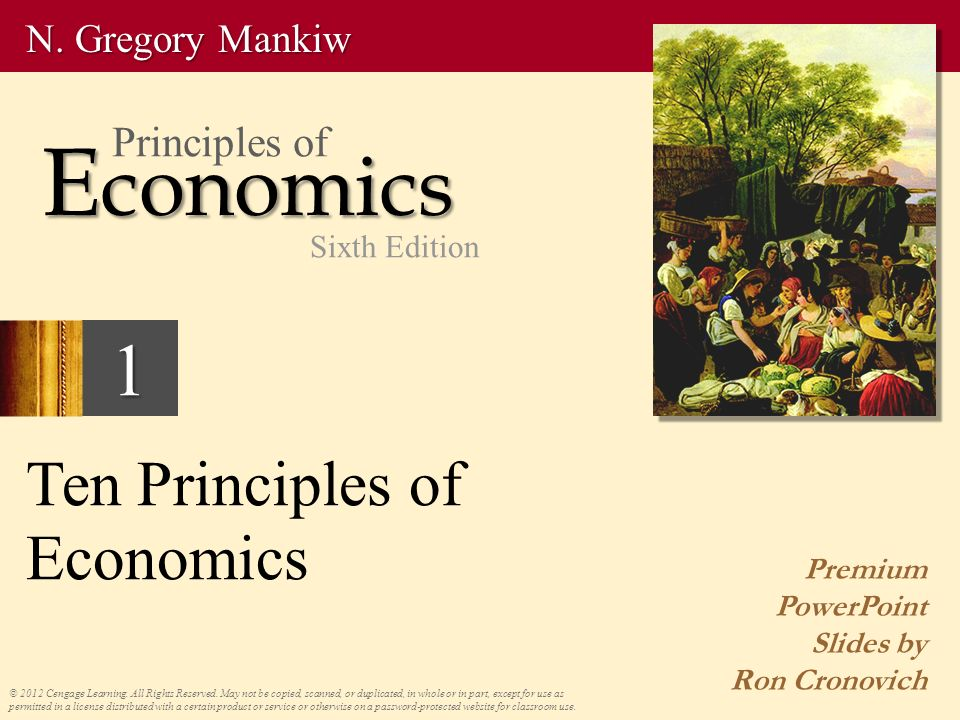 Principles Of Economics 6th Edition Pdf