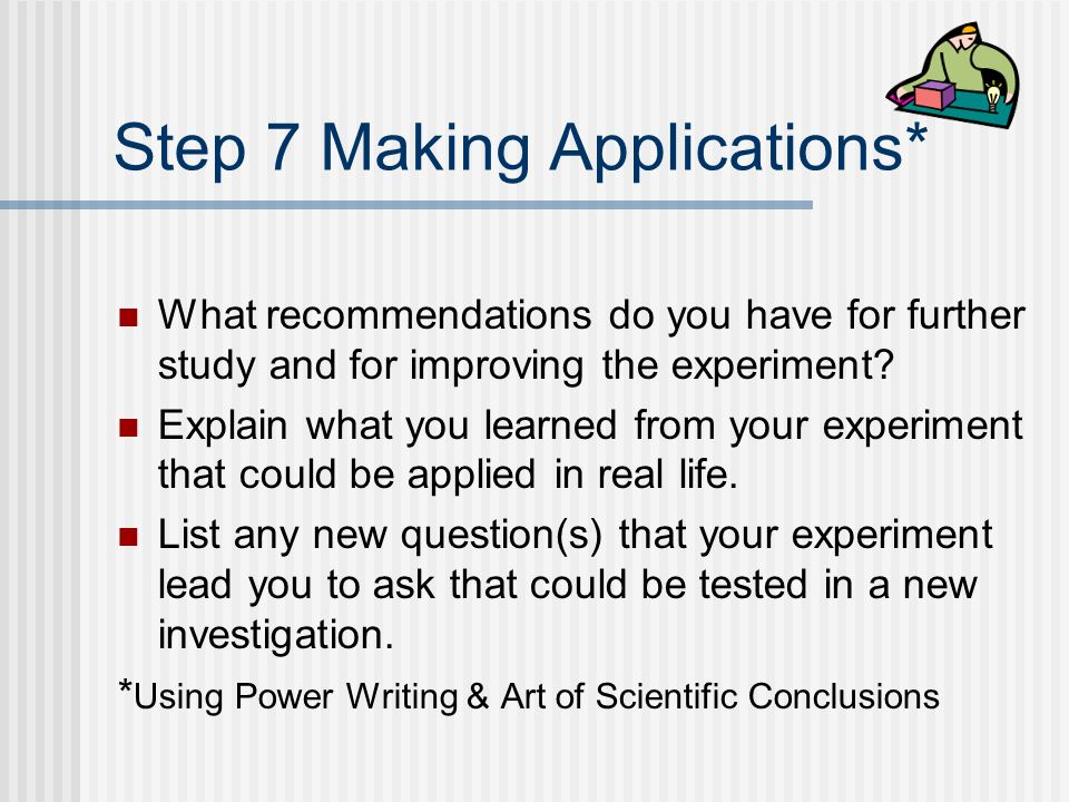 Step 7 Making Applications*