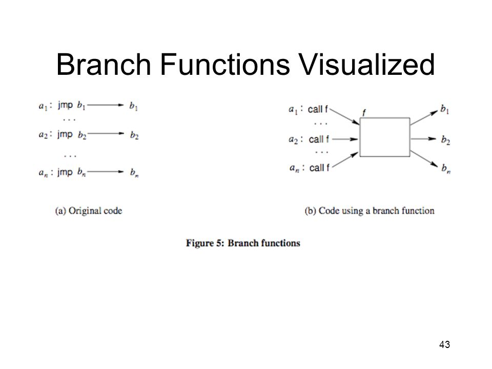 Branch Functions Visualized