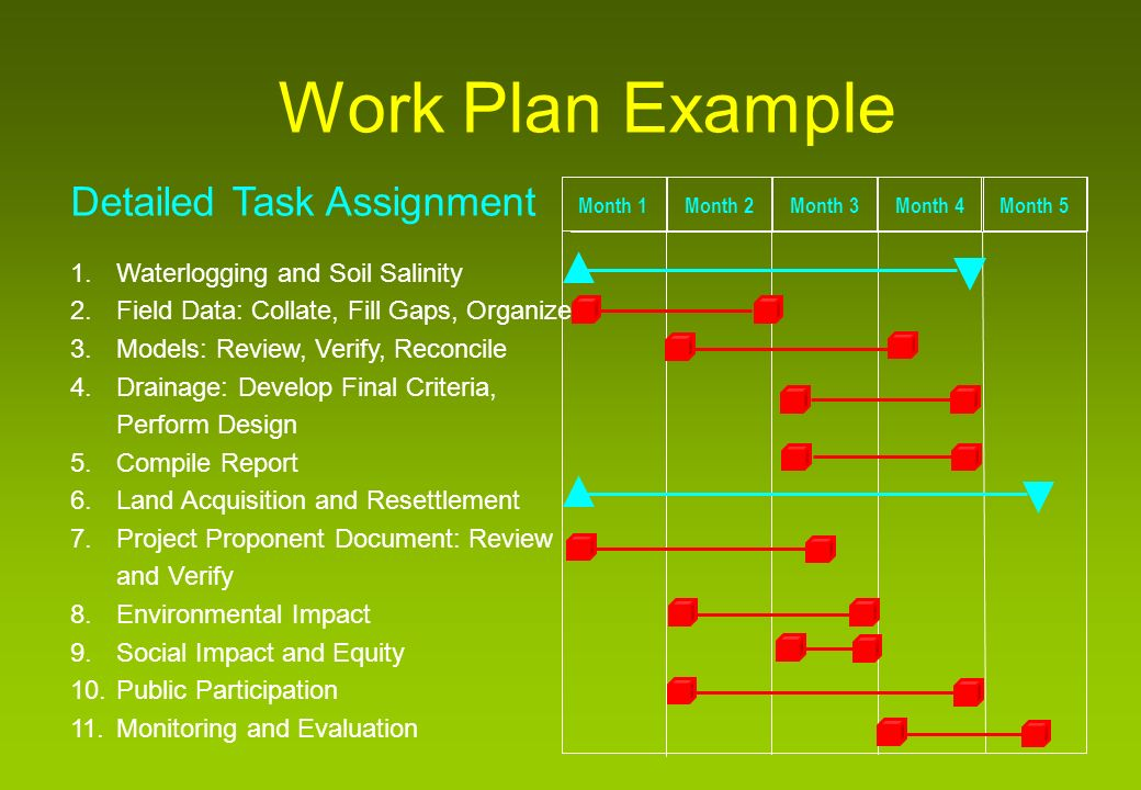 Overview of the environmental impact assessment process ppt download 49 work plan task schedule example irrigation project maxwellsz