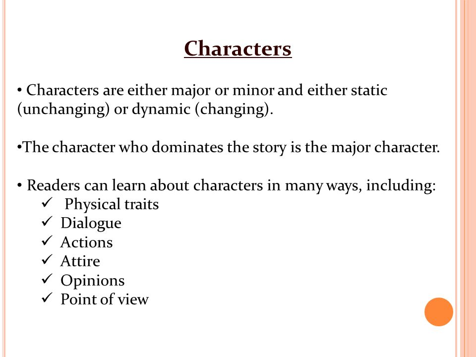 minor characters with major influence essay Characters essay there are many important parts to putting together a play but the characters are one of the most important parts you couldn't have a play without them a character is a person or animal that is made up for a narrative arts for example: novel,play,film or television series.