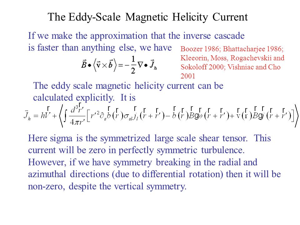 The Eddy-Scale Magnetic Helicity Current
