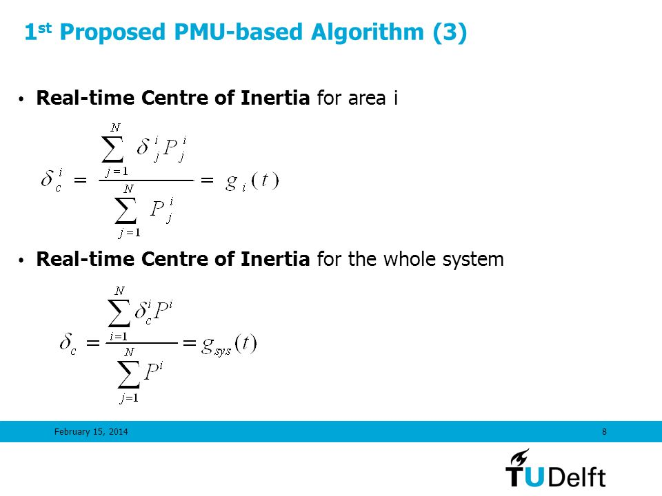 1st Proposed PMU-based Algorithm (3)