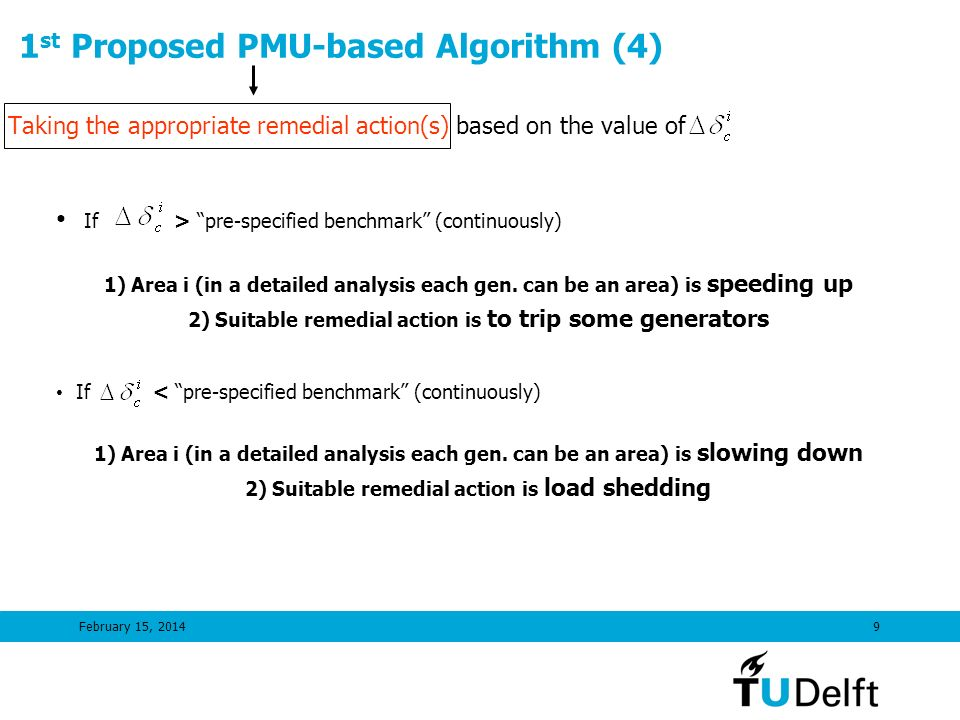 1st Proposed PMU-based Algorithm (4)
