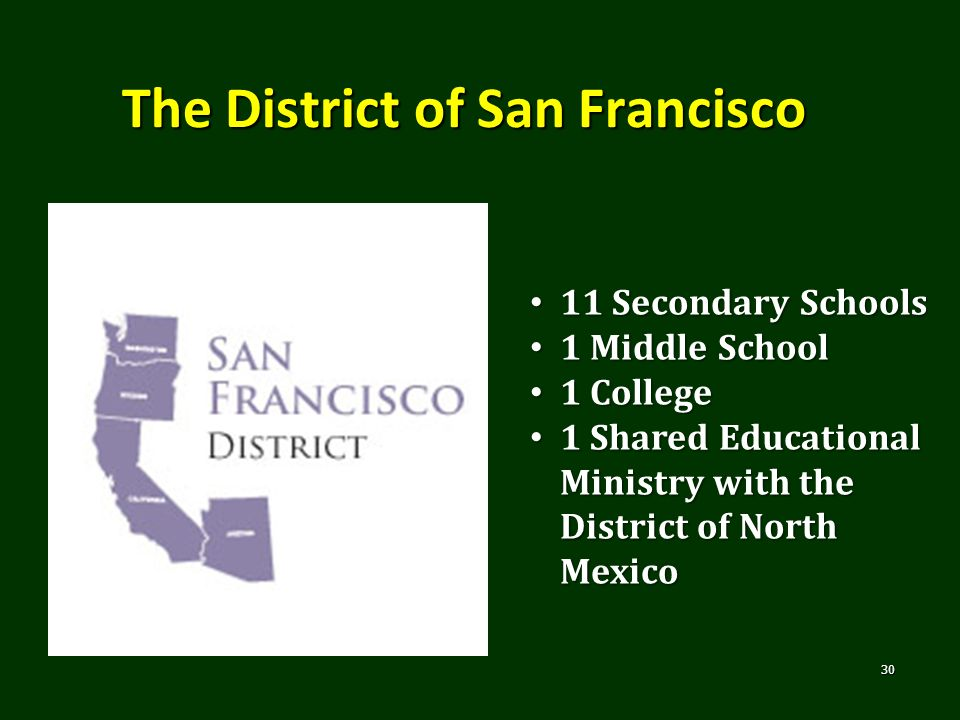 The District of San Francisco