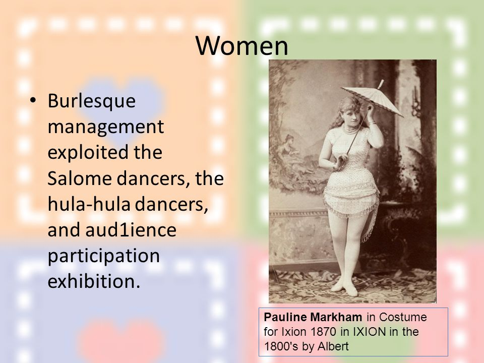 Broadway Musical Burlesque Week 4 - ppt video online download