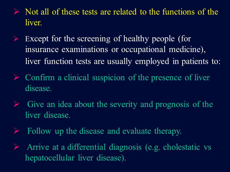 Liver Function Tests Ppt Video Online Download
