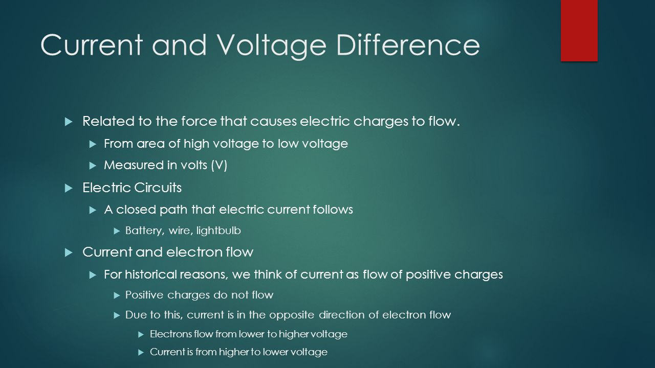 Electric Current ppt video online download