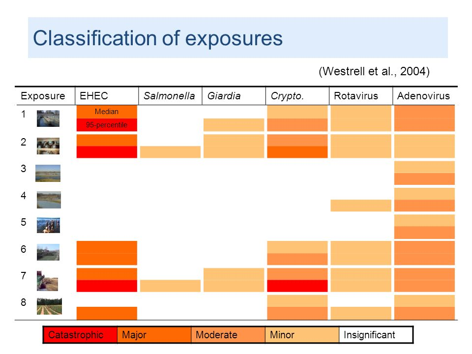 Classification of exposures