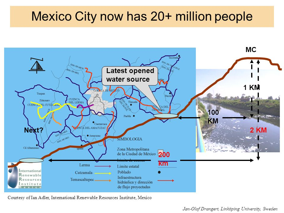 Mexico City now has 20+ million people