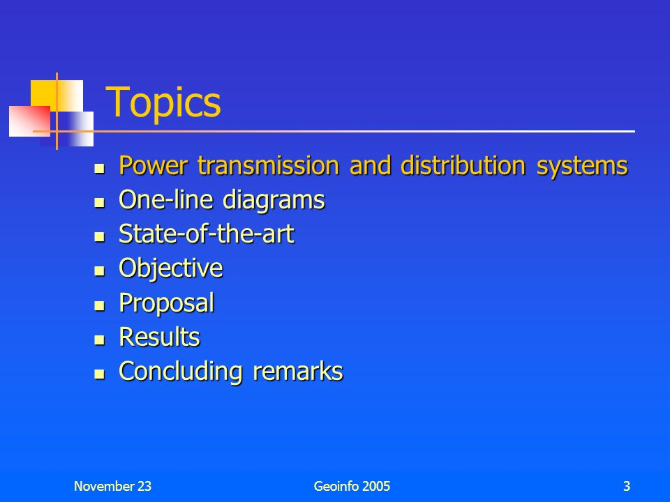 Topics Power transmission and distribution systems One-line diagrams