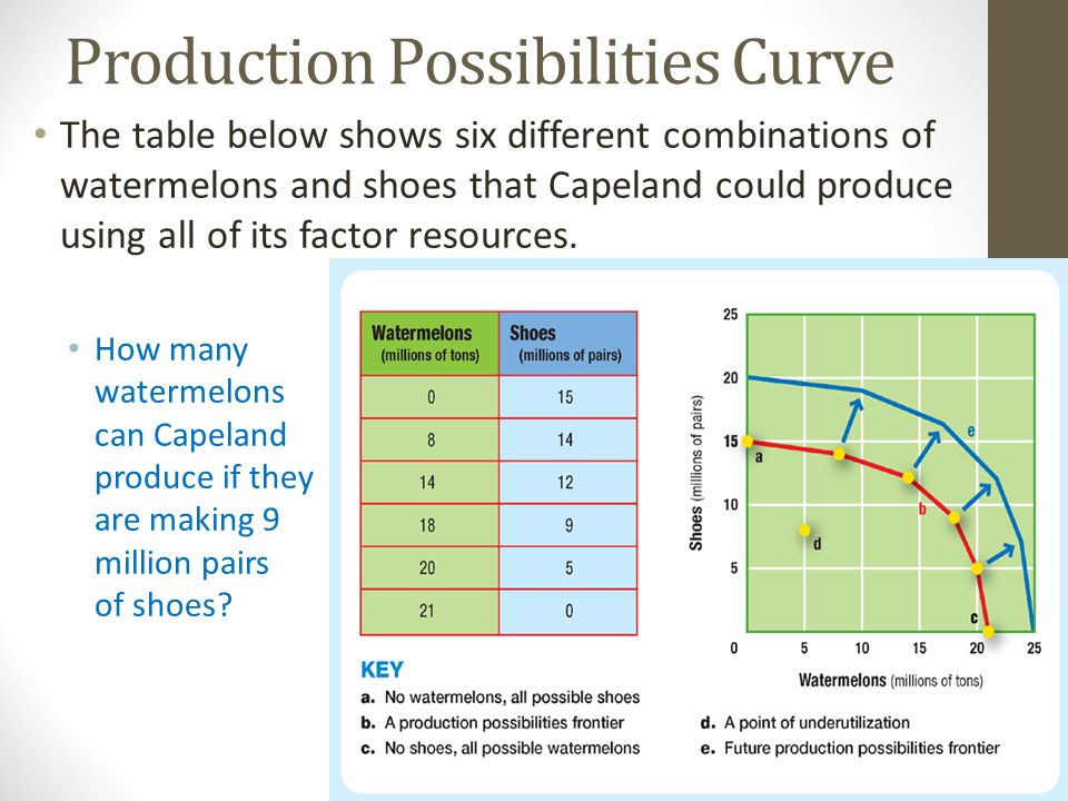 economics production possibilities curves essay Scarcity, choice, and the production possibilities curve chapter exam instructions choose your answers to the questions and click 'next' to see the next set of questions.