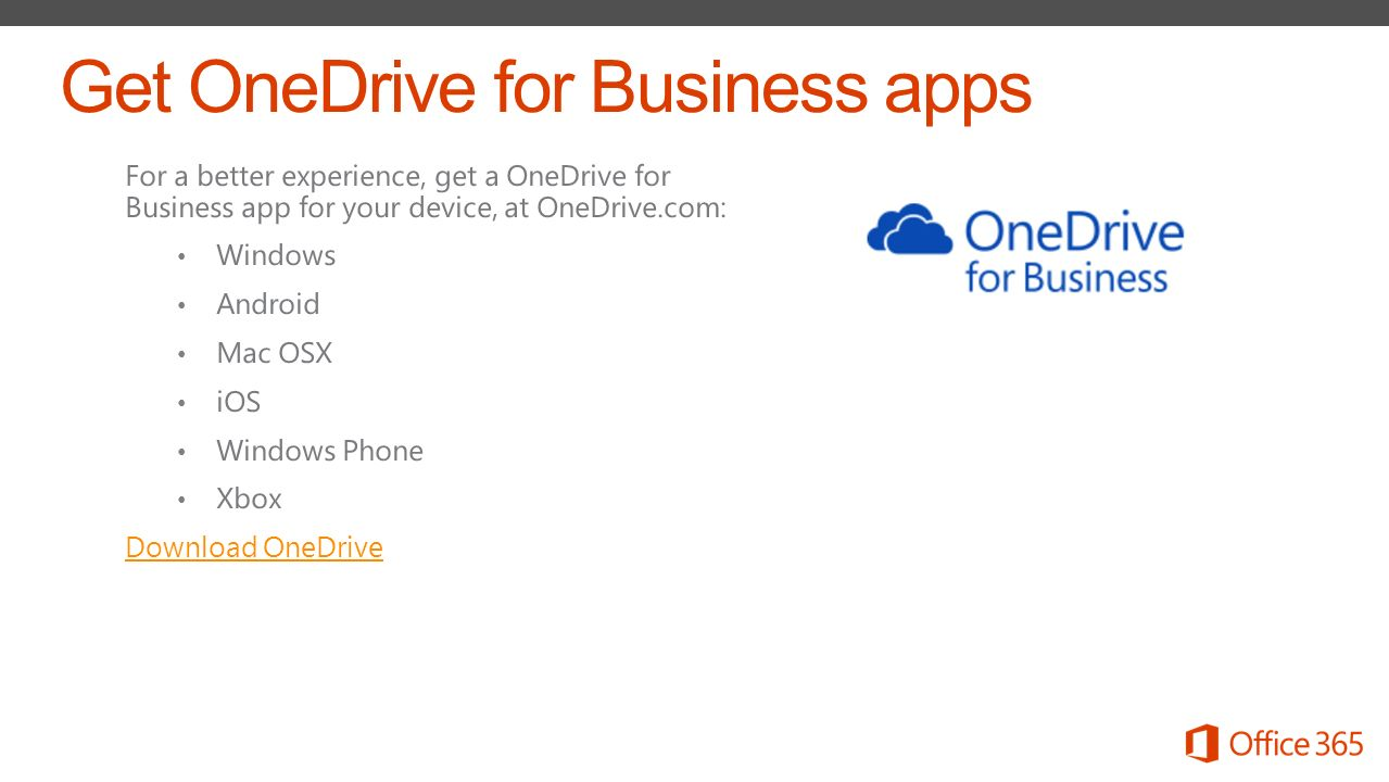 Store, sync, and share your files - ppt download
