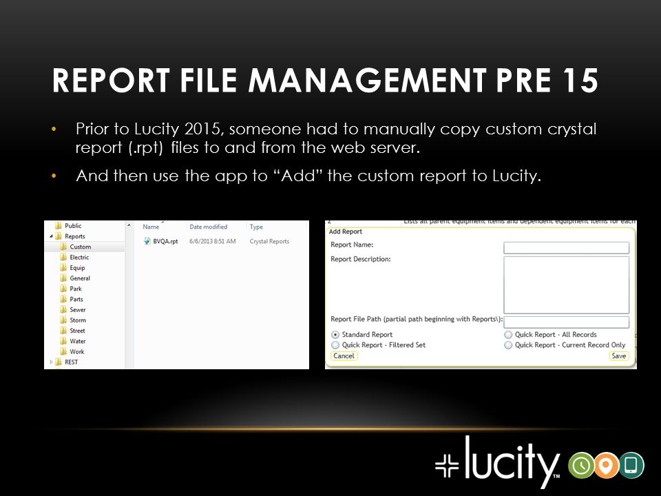 Lucity admin  - ppt download