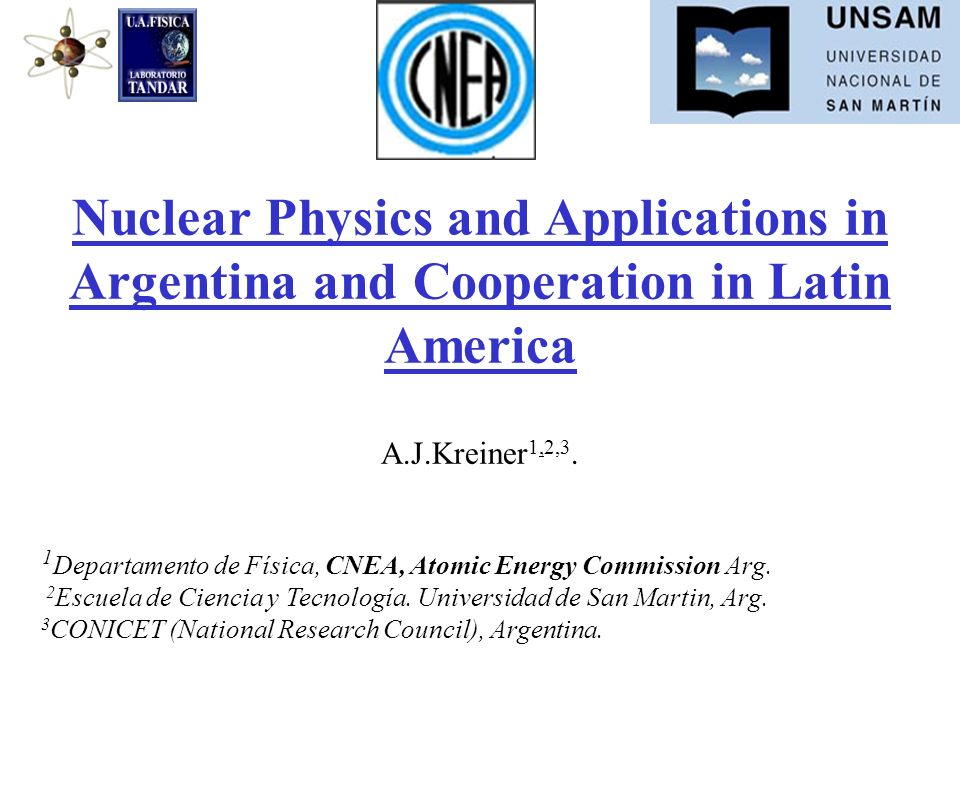 Nuclear Physics and Applications in Argentina and Cooperation in Latin America