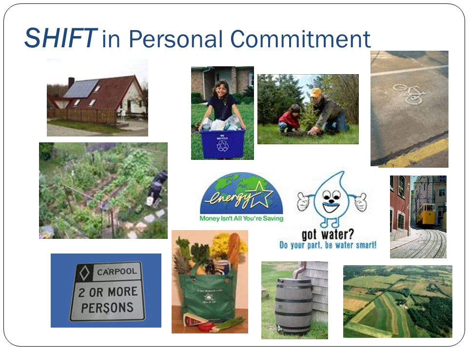 SHIFT in Personal Commitment