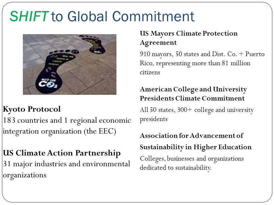 SHIFT to Global Commitment