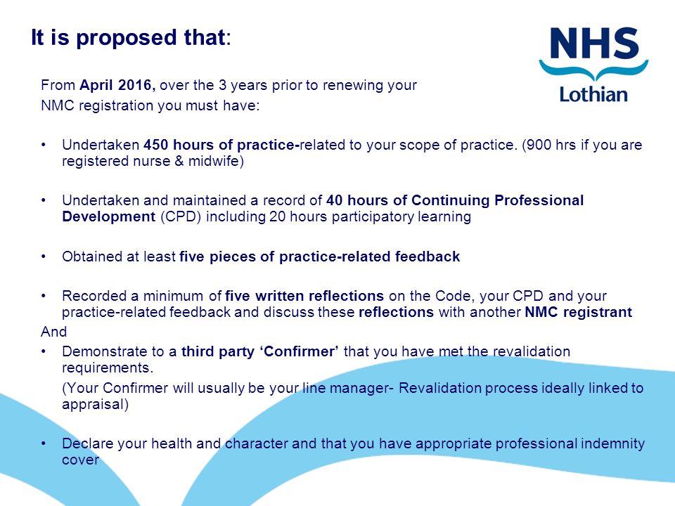 evidence based practice in nursing nmc