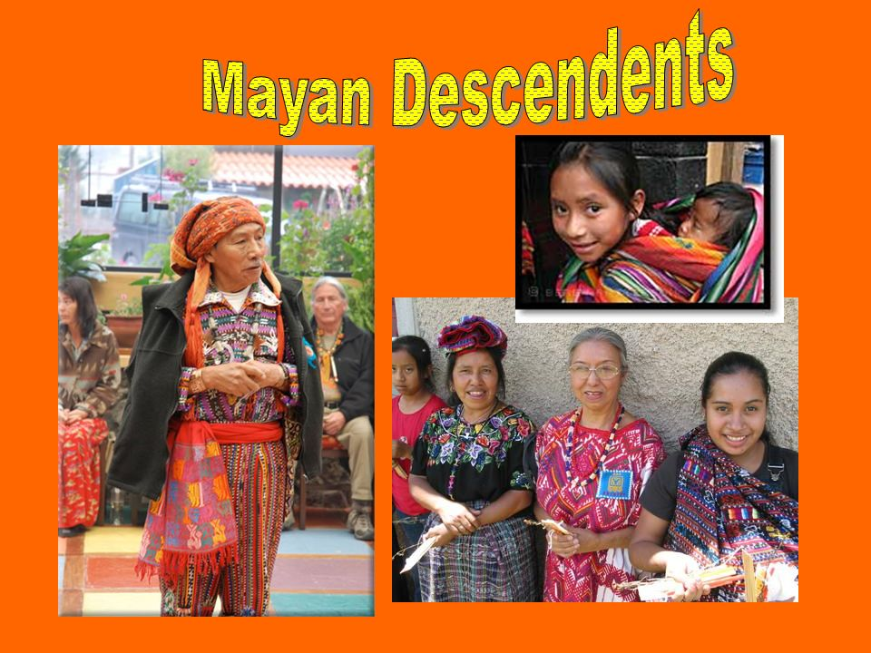 Mayan Descendents