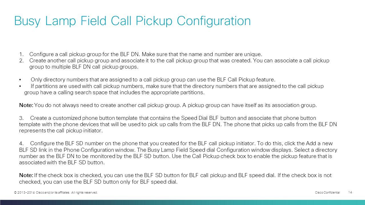 Understanding Call Pickup - ppt video online download