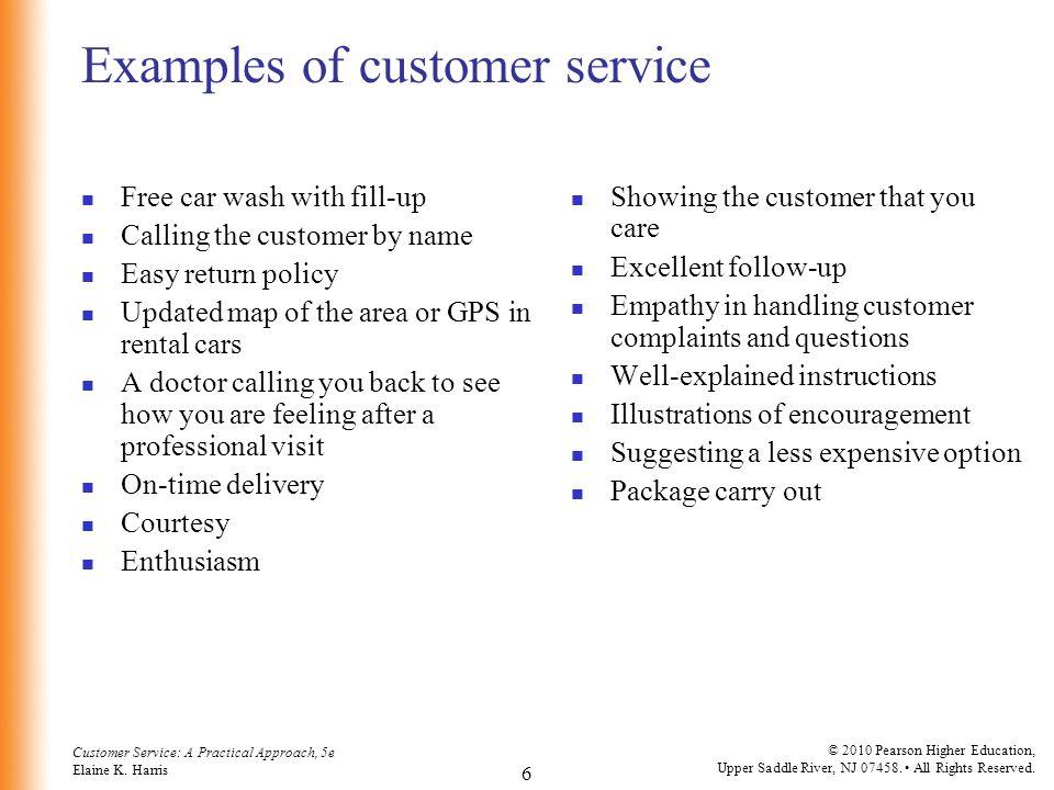 Customer Service A Practical Approach 5th Ed By Elaine K Harris