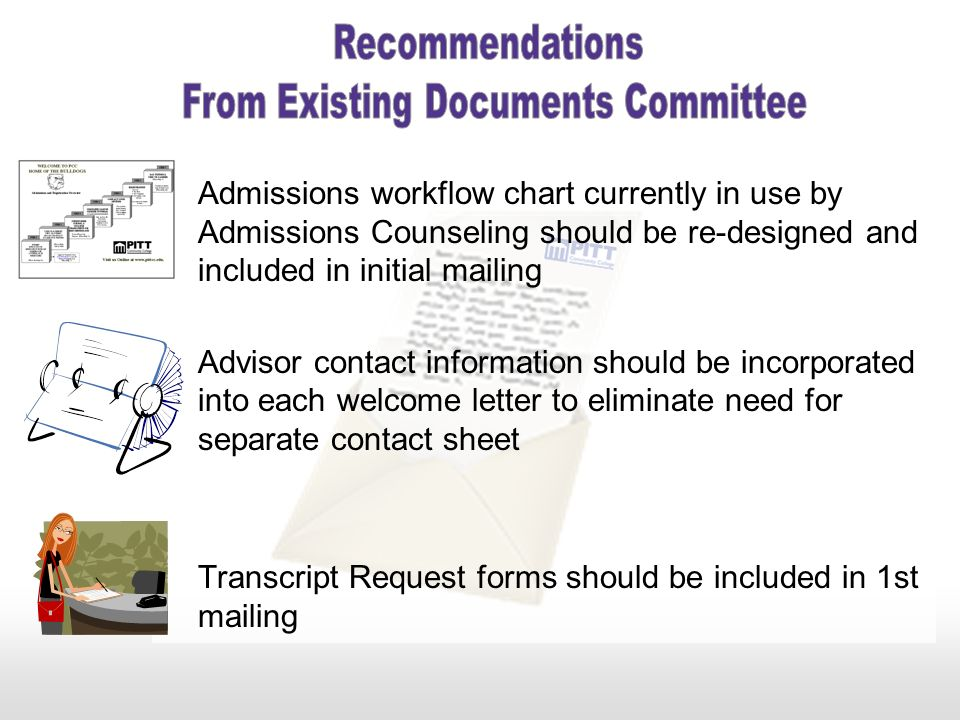 From Existing Documents Committee