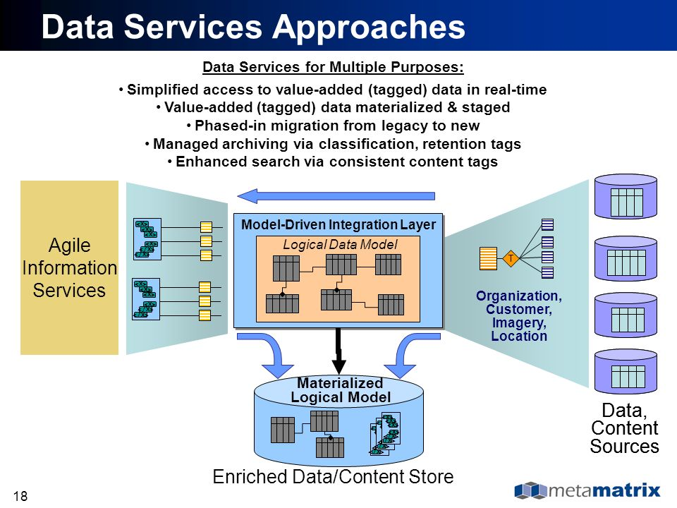 Data Services Approaches