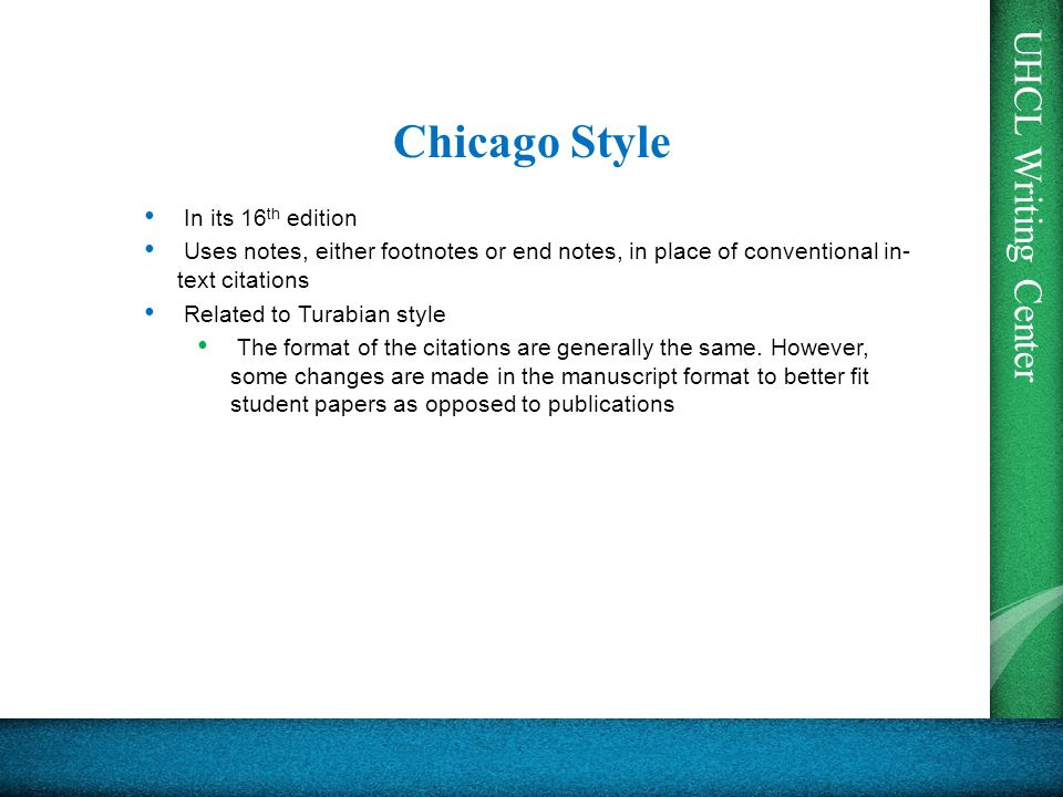 chicago style endnotes example