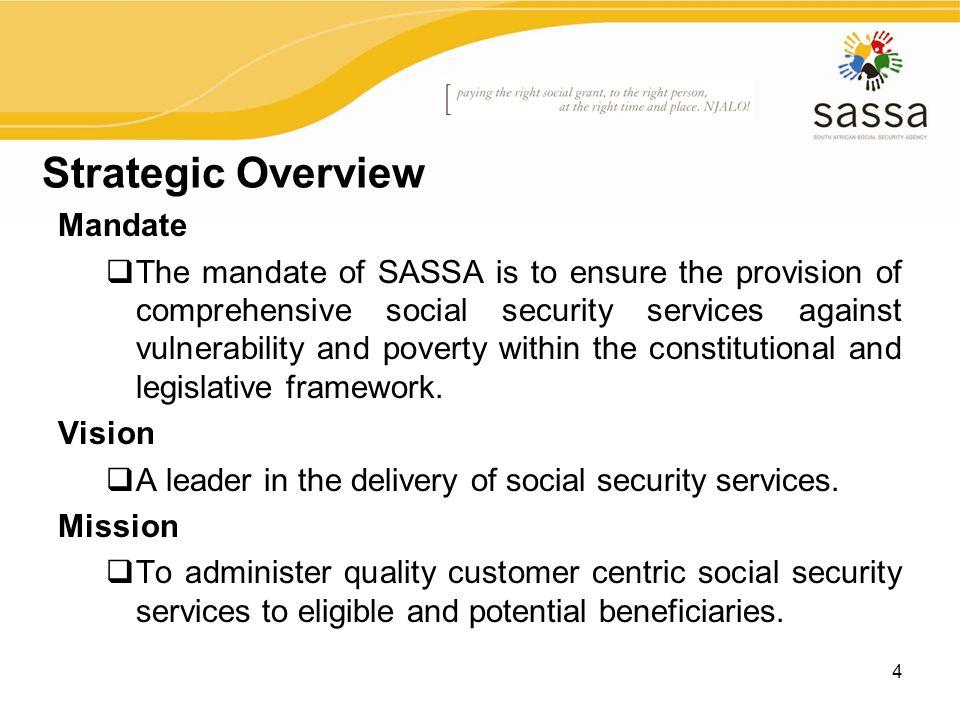 Presentation on SASSA\'s - ppt download