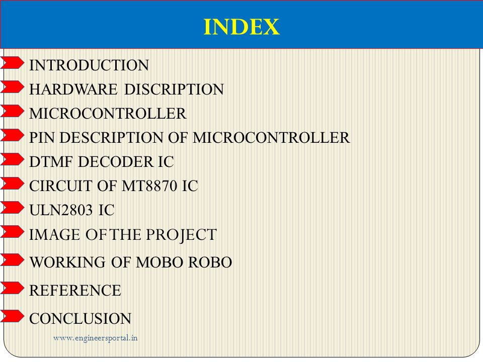 MOBILE OPERATING ROBOT ON EMBEDDED SYSTEM - ppt video online