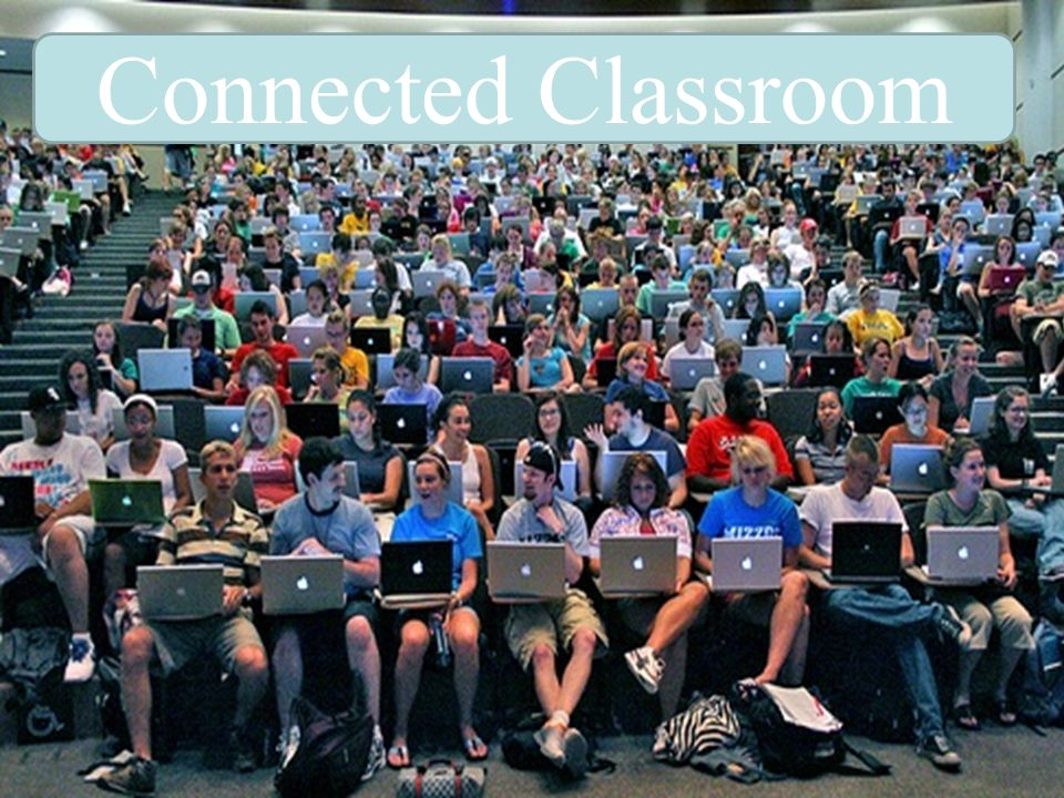 Connected Classroom Image courtesy of Brett Jordan (Creative Commons licensed Flickr photo) via The Chronicle.