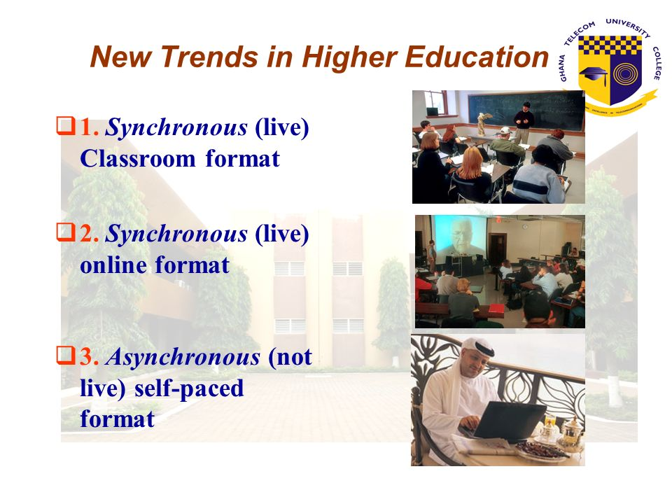 New Trends in Higher Education