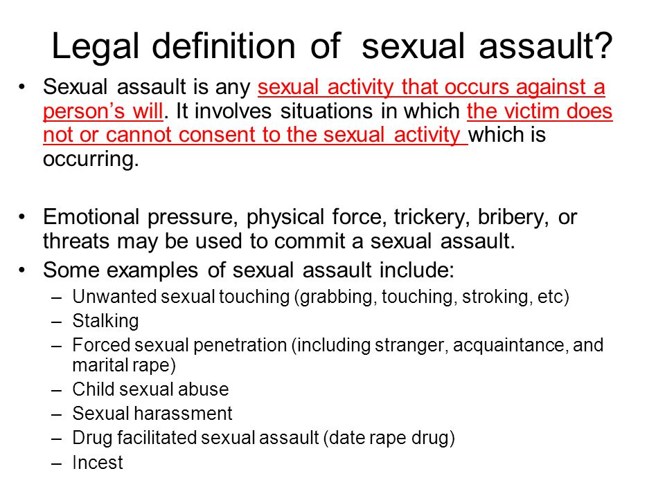 Assault canadian definition law sexual