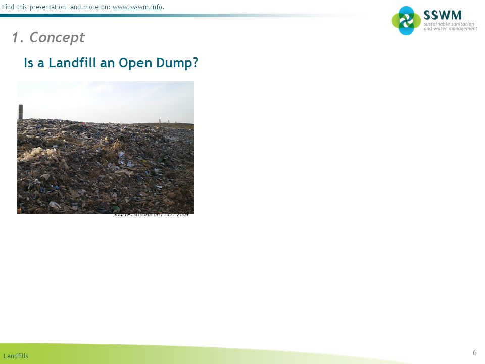 Is a Landfill an Open Dump