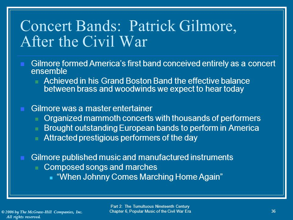 America's Musical Landscape 5th edition - ppt video online