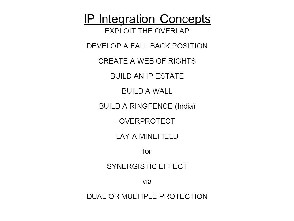 IP Integration Concepts