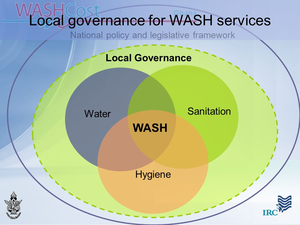 Local governance for WASH services