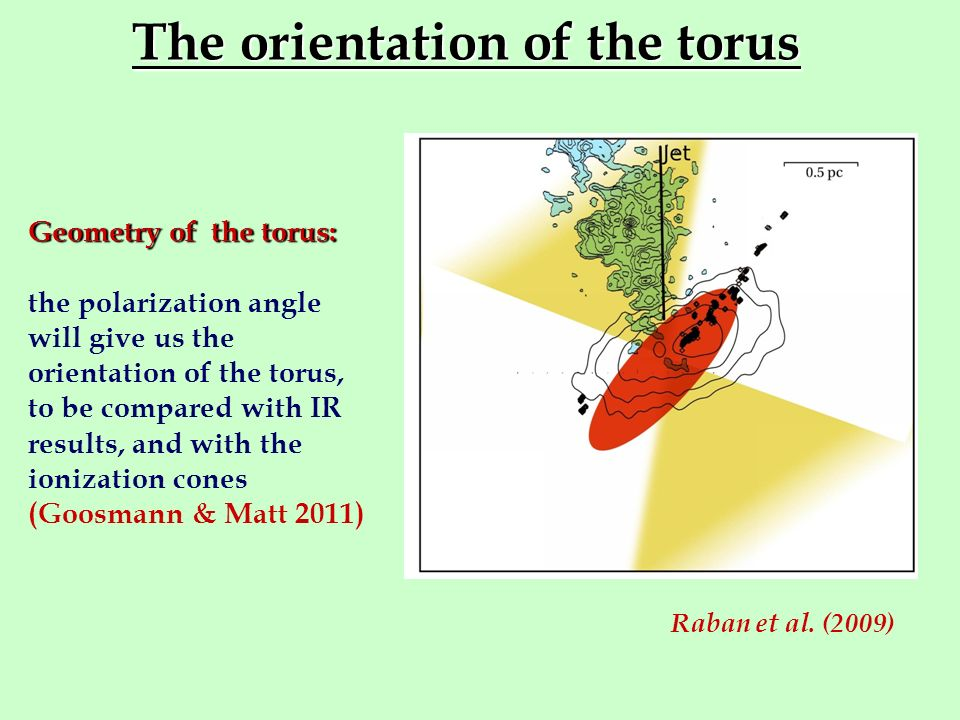 The orientation of the torus