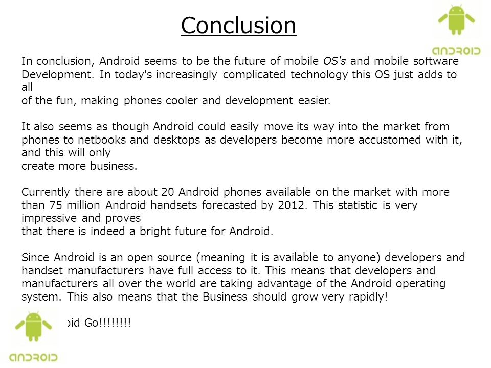 What is Android?  - ppt download