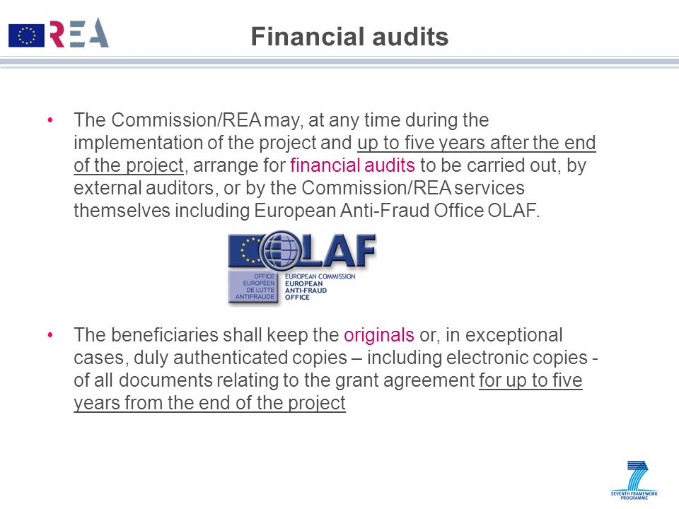 Financial audits
